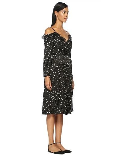 Askılı Beli Bağcıklı Midi Elbise-Essentiel Antwerp
